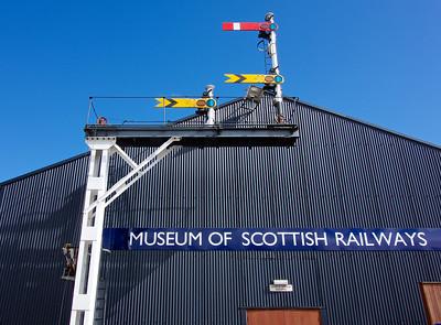 Museum of Scottish Railways at Bo'ness