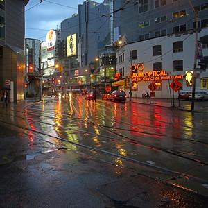Dundas Square, Toronto.